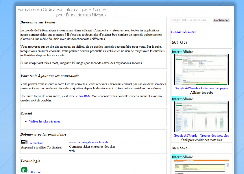 u00bb internal-web-sites